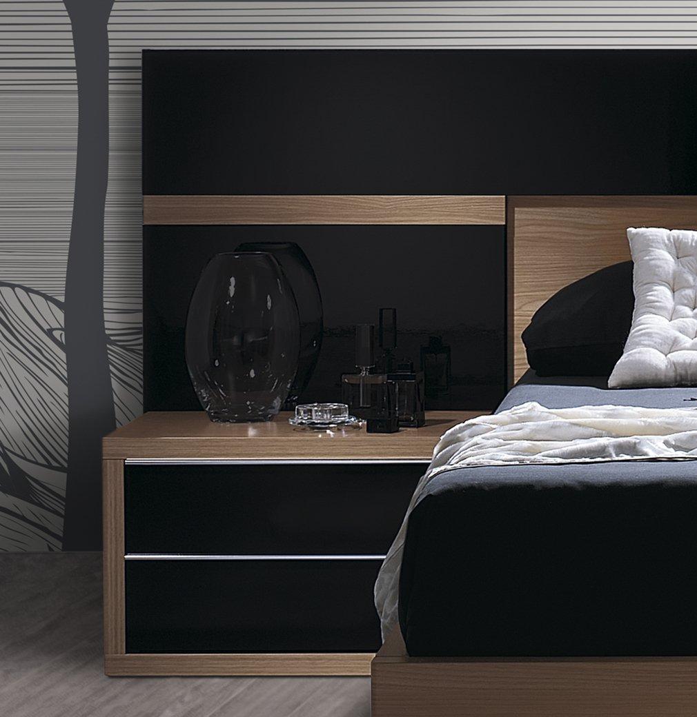 Mesitas noche originales decoracin dormitorios mesitas de - Mesillas estrechas ...
