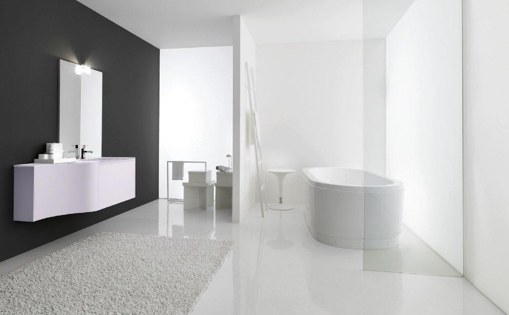 Composiciones de cuartos de ba o productos ganbera - Muebles de bano con lavabo sobre encimera ...