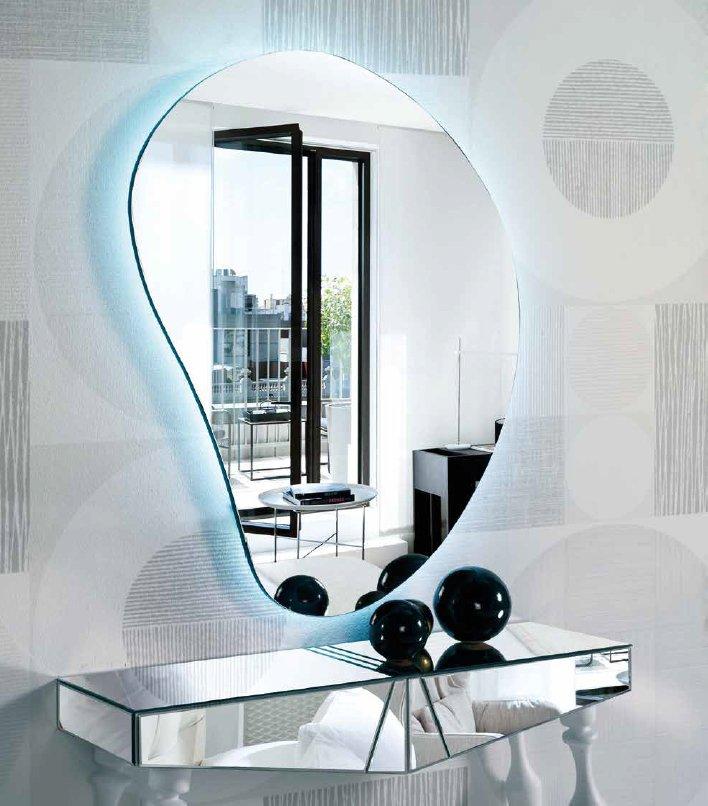 Espejos para recibidores productos ganbera interiorismo for Espejos para entrada modernos