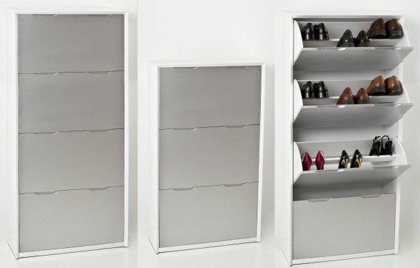 Muebles zapateros a medida stunning mueble zapatero de for Armario para zapatos