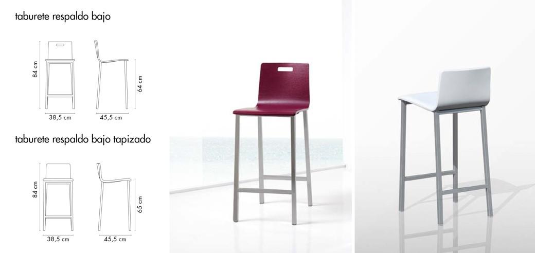 Mesas sillas y taburetes de cocina productos ganbera - Sillas plegables de cocina ...