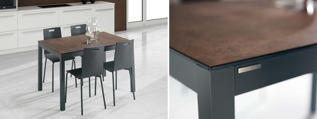 Mesas sillas y taburetes de cocina productos ganbera - Mesas de cocina plegables baratas ...