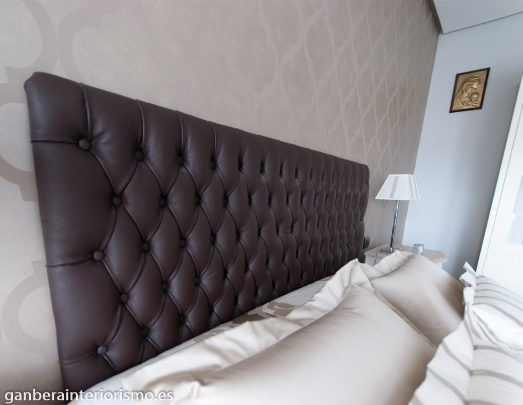 Tapìzado de cabeceros de cama • Galería • Ganbera Interiorismo
