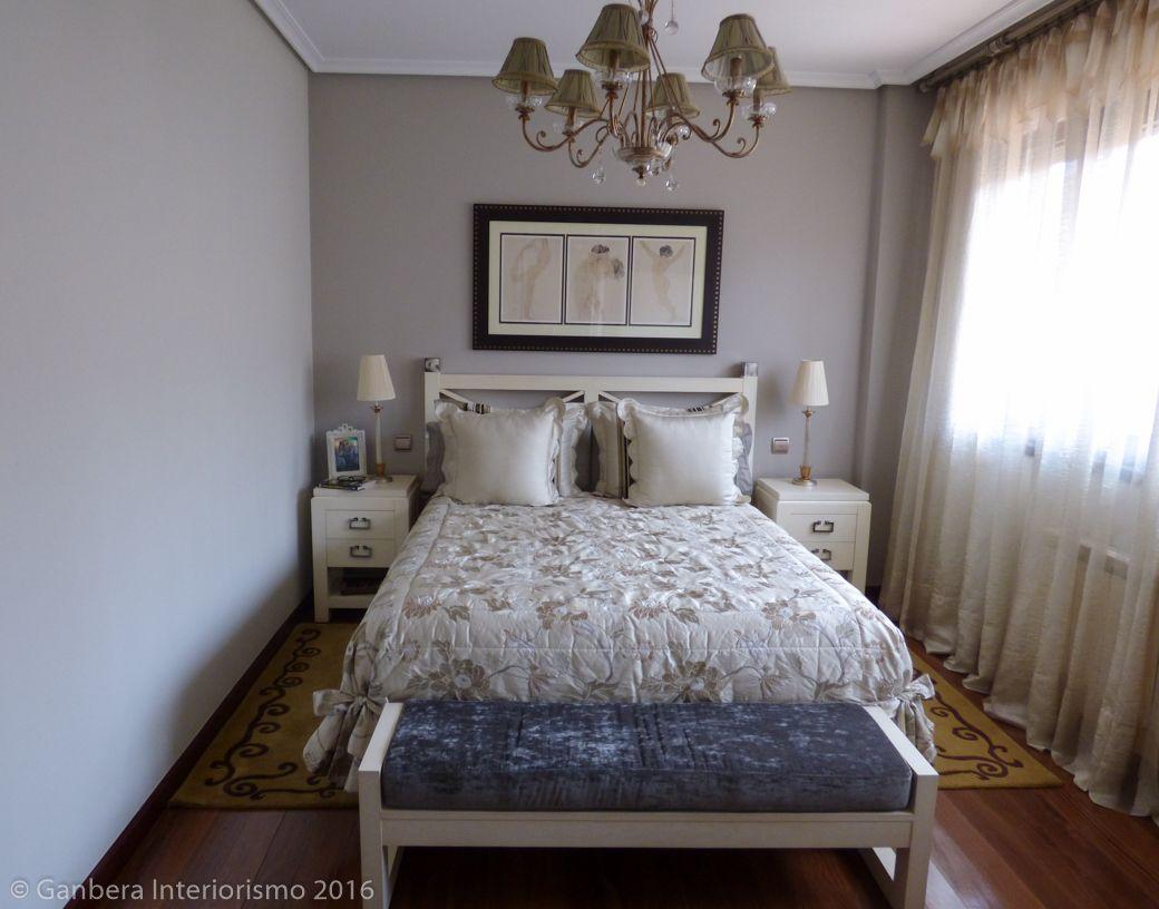 Dormitorio de matrimonio cl sico en amorebieta ganbera for Conjunto habitacion matrimonio