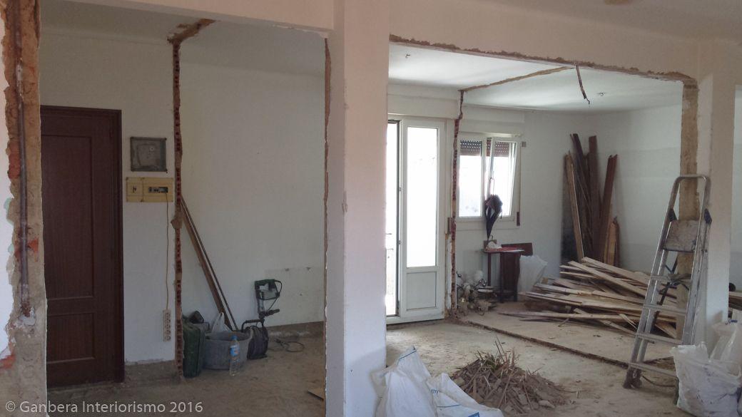 Reforma y decoración de un apartamento en Amorebieta · Ganbera