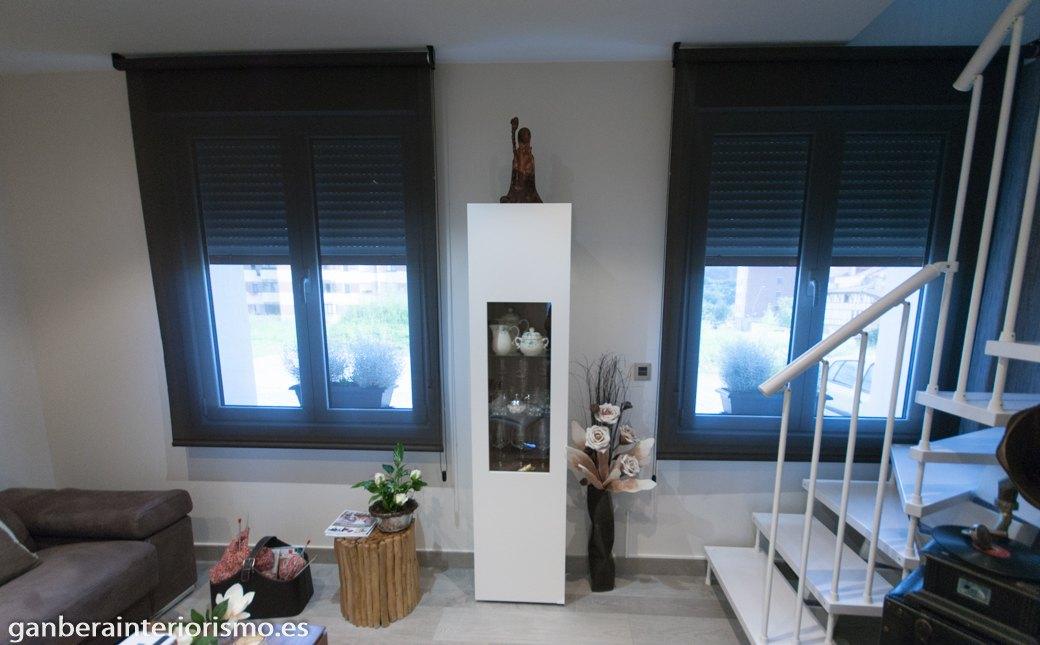 Estores para salones fabulous el sistema del panel japons - Paneles japoneses cortos ...