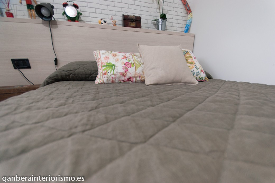 Viste tu cama • Galería imágenes • Ganbera Interiorismo