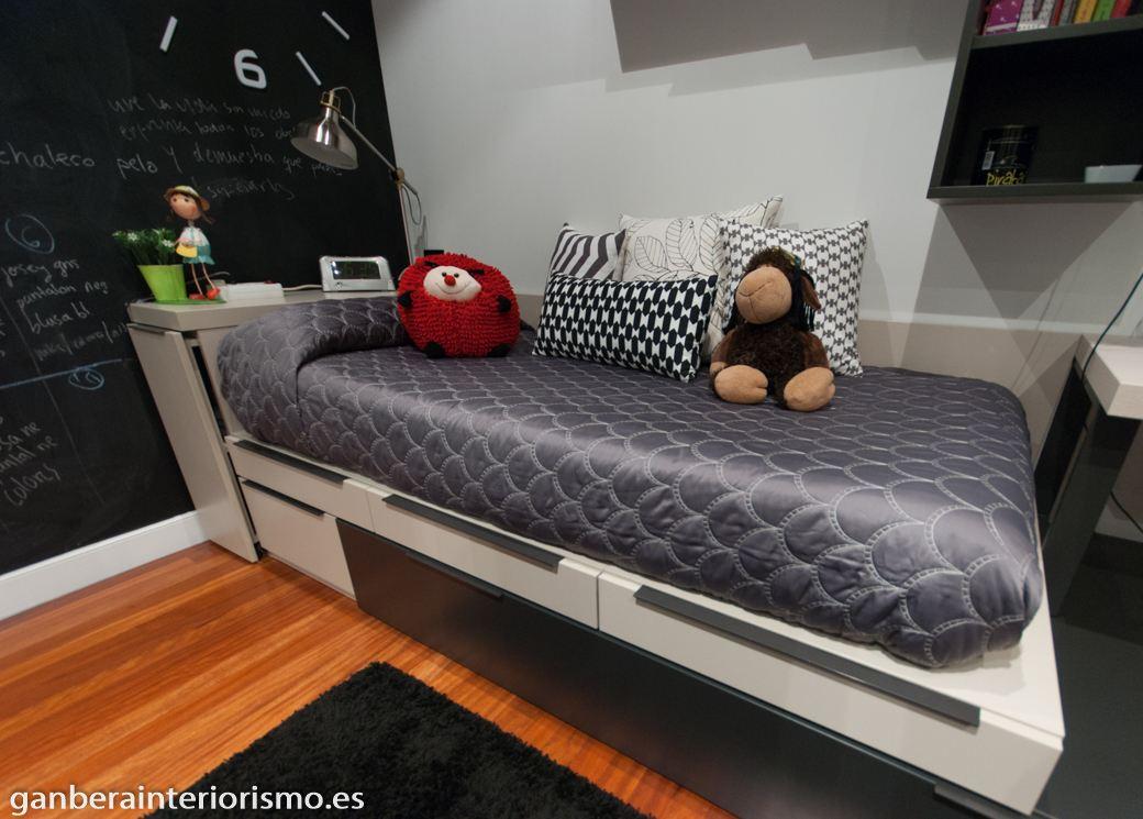 Dormitorios juveniles galer a im genes ganbera - Cojines para dormitorios juveniles ...