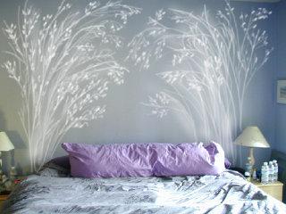 C mo elegir cabeceros de cama de matrimonio originales for Vinilos decorativos habitacion matrimonio