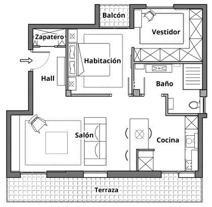 Mobiliario Reforma integral de vivienda en Bilbao Bizkaia Mungia Derio