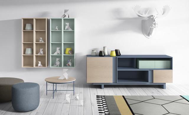 Colores para un salón luminoso mueble principal