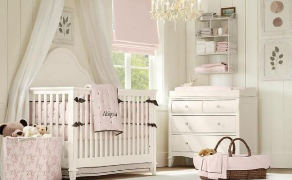 Cómo decorar la habitación de un bebé con colores bonitos