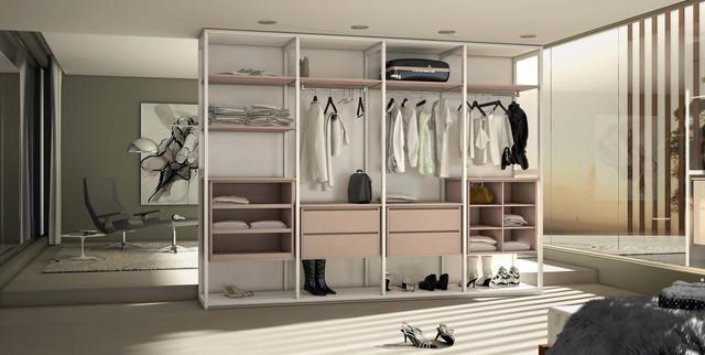 Instalación y venta de armarios vestidores a medida en Amorebieta y Bilbao